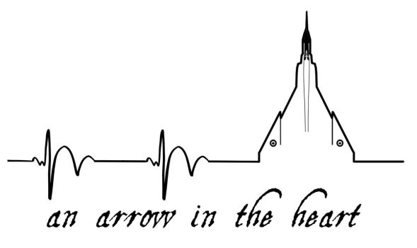 Arrow in the Heart by amberchrome