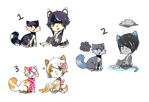 Collab adopts! [CLOSED] by AmberTheSatyr