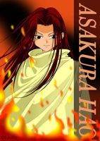 Asakura Hao from Shaman King by Lynling