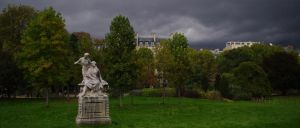 Parc Monceau - Paris by Telekinesy
