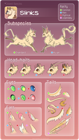 Slinks reference guide by DancingInBlue