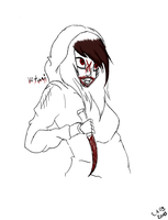 Mourin The Killer || (From Jeff The Killer) by Vitanifan55