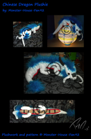 Chinese Dragon Plushie by Monster-House-Fan92
