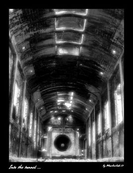 Into the tunnel... by Murderdoll17