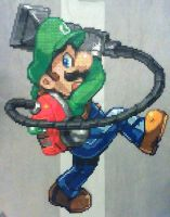 Luigi (Luigi's Mansion) by phantasm818