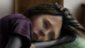 Sleeping Sister by fifthdimensional