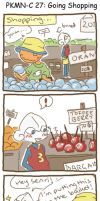 PKMNC: Going shopping with Onion by SilkenCat