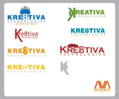 kreativa logo concepts by depthskins