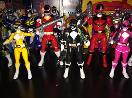 Power Rangers Toy Collection 011: Black Ranger by AnutDraws