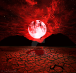 Blood Moon by carbonella