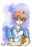 Kyo in Watercolor by vanmaniac