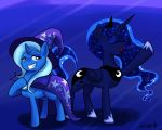 Trixie and Luna for Animefreak40k by Ereb-Tauramandil
