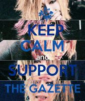 Support the GazettE I by DFrohlic