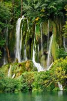 Waterfall wonderment 1 - Plitvicka by wildplaces