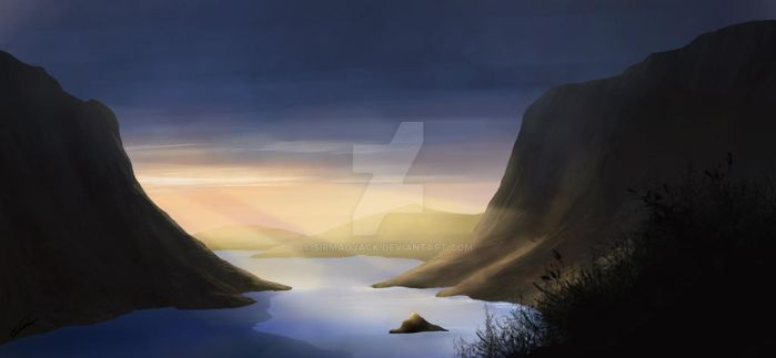 140916-A Fjord by sirmadjack