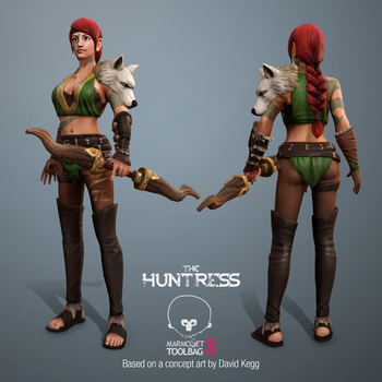 The Huntress by jasonwang7