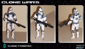 2nd Custom Clone Trooper by jaw500