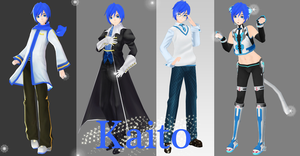 Kaito Project DIVA 2nd by willianbrasil