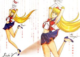 Sailor V by Alex-Asakura
