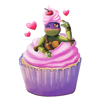 Cupcake Donnie by SpringSunshower