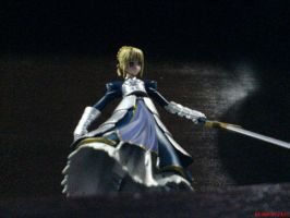 Fate Stay Night Saber DX by blzd