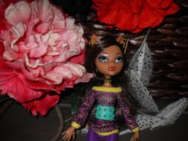 clawdeen and a bunch of my stuff by Chenae00