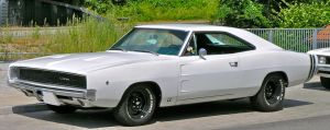 Dodge Charger 1968 white by cmdpirxII