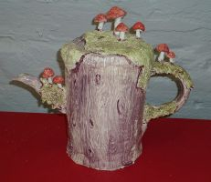 Forest Teapot - 2013 by BronwenRose
