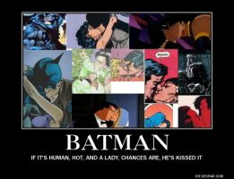 Batman is one lucky guy by samvadar