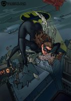 Catwoman's Chaotic Cravings by vore-fan-comics