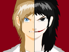 Jeff The Killer and Jeffery Woods by CookzieZAM