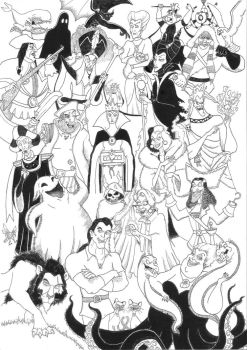 Disney Villains Compilation by 010001110101