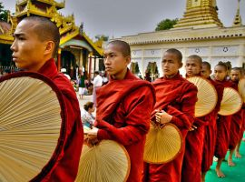 Buddhist   Monks by CitizenFresh