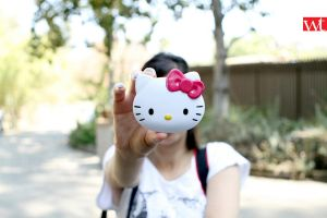 hello kitty face at los angeles zoo by wilsontang