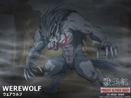 Project Altered Beast Werewolf Wallpaper by Pyrus-Leonidas