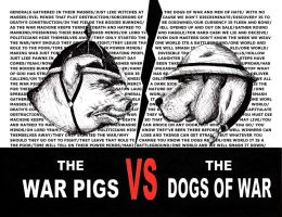 Dogs Of War vs War Pigs by elmothealien