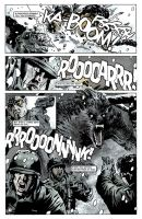 Sgt Zero page 10 coloured by NoirZone