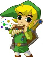 Link's Spirit Flute by Ocarina-Witch