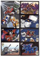 Voltron Sketch Cards 4 of 7 by TerryTibke