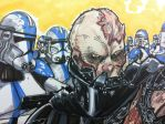 Vader Close Up by Hodges-Art
