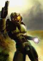 Masterchief by woxy