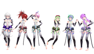 [MMD] TDA Appends [END] by Xhiao-Yuu