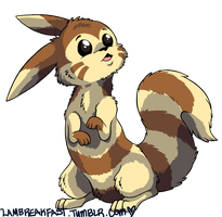 FURRET. by Love-Like-Nicole