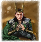 Loki - One day by LadyMintLeaf