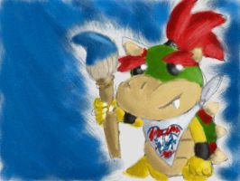Oh look it's Bowser Jr. by Quacksquared