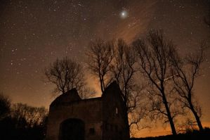 Geminid meteorite shower 13-12-12 by JrLoef