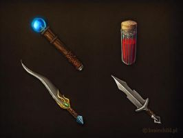 game items- game icons by brainchilds