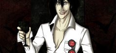 Alucard pic complete by AllisonSmith