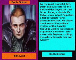 Files of Evil: Darth Sidious by DarthVaderXSnips