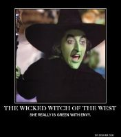Wicked Witch of the West Demotivational Poster by Haxorus54